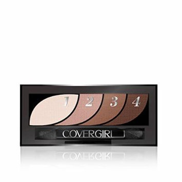 CoverGirl Eyeshadow Quads, Notice Me Nudes 700, 0.06 Ounce