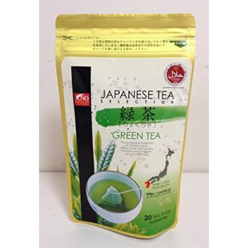 Halal Japanese Green Tea 'UNO' 20Bags (Stand Pack)