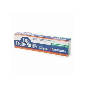 Dr. Tichenor's Fluoride Toothpaste with Extra Whitening and Tarter Control 6.4 fl oz