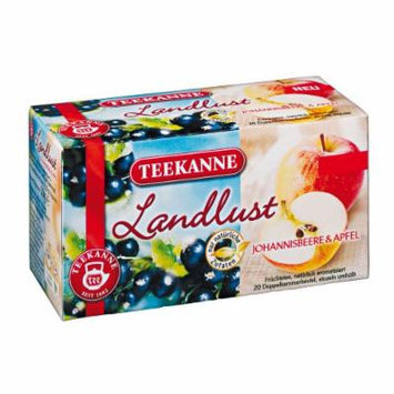 3x Teekanne (Johannisbeere & Apfel) currant & apple (each box 20 tea bags)