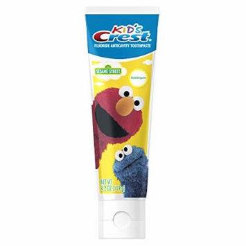 Crest Kids Sesame Street Bubblegum Flavor Toothpaste 4.2 Ounce
