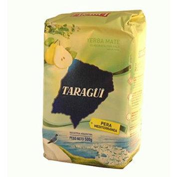 Yerba Mate Taragui Vitality,orange,liviana,citricos DEL Litoral,regular Blend,loose Leaf 1.17 Lbs/500 G (2 Pack) (PERA MEDITERRANEA)
