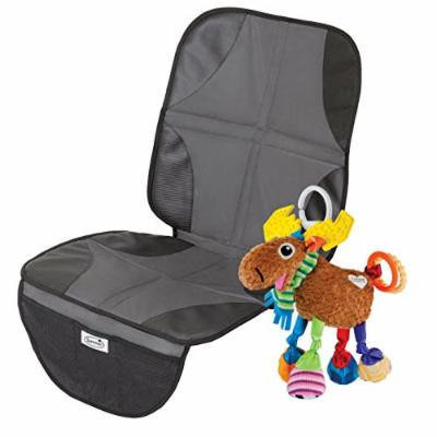 Summer Infant Duo Mat Car Seat Protector with Take Along Toy, Moose