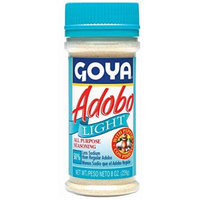 Goya Adobo Light with Pepper - 8 oz All Purpose Seasoning 50% Less Sodium (6 packs)