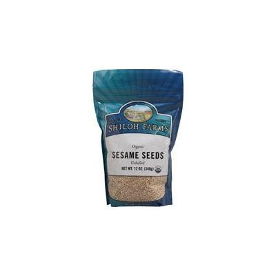 Organic Unhulled Sesame Seeds - 6 x 12 Oz