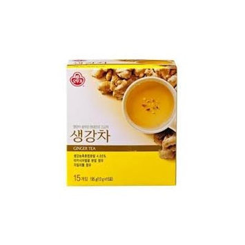 Korean tea powder - 13 g X 15 bags. (Ginger)