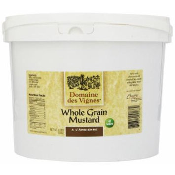 Domaine des Vignes Wholegrain Mustard, 11-Pounds