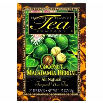 Hawaiian Islands Tea Coconut Macadamia