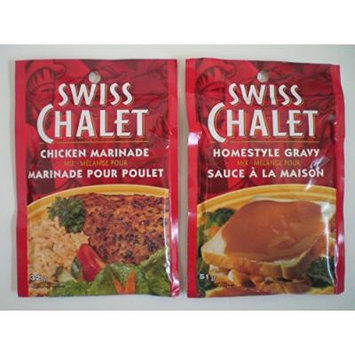 Swiss Chalet Chicken Marinade & Homestyle Gravy Variety Pack