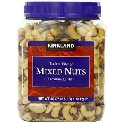Signature's Kirkland Fancy Mixed Nuts, 40 Ounce (2 Containers)
