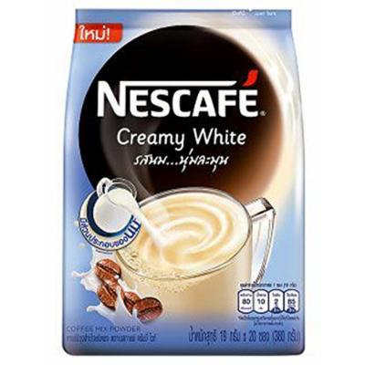 Nescafé Creamy White Coffee Mix Powder 19g X 20sachets