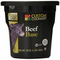 Custom Culinary Gold Label Base, Beef, 1 Pound