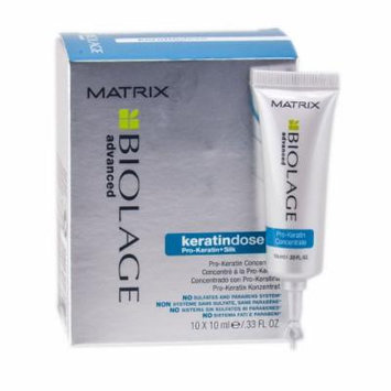 Matrix Keratin Dose Pro-Keratin Concentrate (10 X .33 oz. Tubes) .33 oz