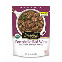 Imagine Culinary Simmer Sauce, Portobello Red Wine, 10 Ounce (Pack of 6)
