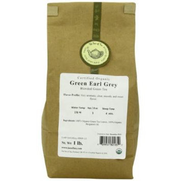 The Tao of Tea Green Earl Grey, 1-Pounds