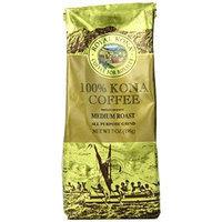 Royal Kona Ground Coffee, 100% Kona Private Reserve, Medium Roast, 0.44 Pound