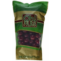 Red Gumballs - Black Cherry 1 Inch 2 Pound Bag - Oh! Nuts