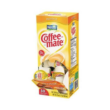 Nestlé Coffee-mate Liquid Creamer Hazelnut 3-pack;50 Count Each.