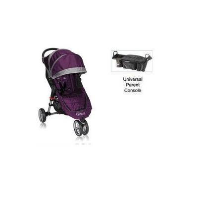 Baby Jogger City Mini Stroller WITH Parent Console (Purple/Gray)