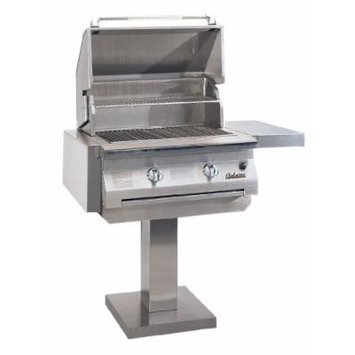 Solaire 30-Inch Infrared Natural Gas Bolt-Down Post Grill, Stainless Steel
