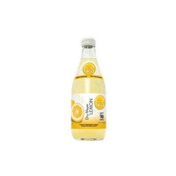 GUS Soda Dry Meyer Lemon 12 Oz(24 Pack)