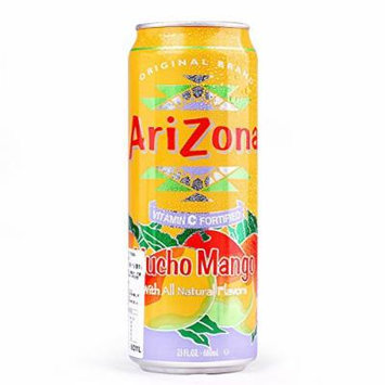 AriZona Mucho Mango, 23 Ounce (Pack of 24)