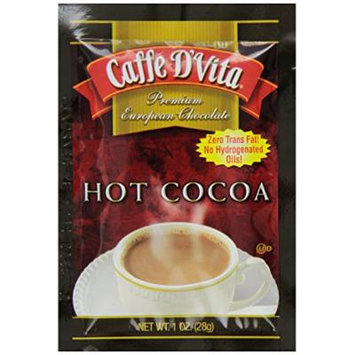 Caffe D'Vita Hot Cocoa, 1-Ounce Envelopes (Pack of 12)