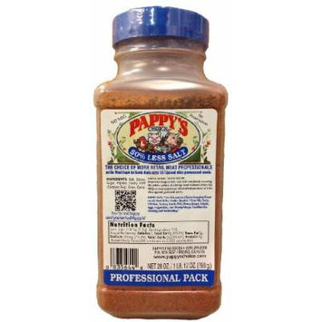 Pappy's Choice Seasoning with 50% Less Salt (28 Oz Professional Pack)