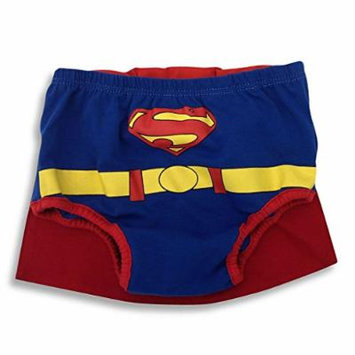 DC Comics Superman Infant Diaper Cover with Cape IUE48372 One Size