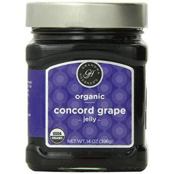 Grandma Hoerner's Organic Concord Grape Jelly, 14.0 Ounce