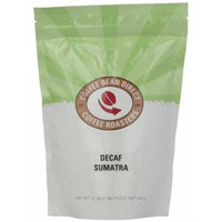 Coffee Bean Direct Decaf Sumatra, Whole Bean Coffee, 16-Ounce Bags (Pack of 3)
