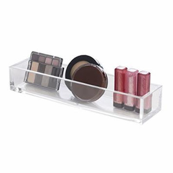 Richards Homewares Clearly Chic Clear Narrow Cosmetic & Makeup Organizer Block