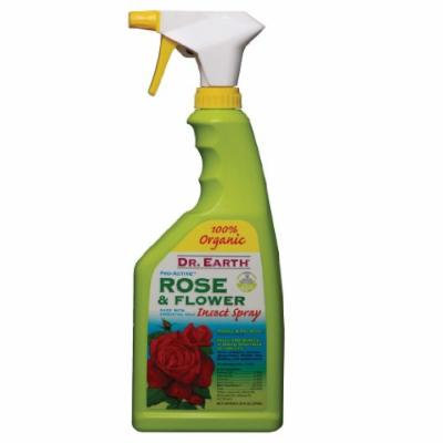 Dr. Earth 757 Natural Insect Spray Ready to Use Rose & Flower, 24-Ounce