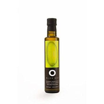 O OLIVE OIL & VINEGAR Organic Crushed Meyer Lemon Olive Oil, 8.45 Fluid Ounce