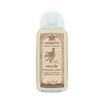 Anti Hair Falling Out, Hair Loss Prevention, Remedies for Hair Growth Natural Shampoo Recipe (Herbal Thai Tinospora Crispa) 200ml.