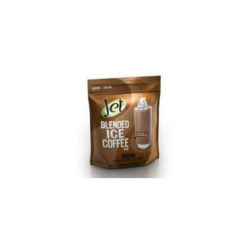 Jet Big Bean Mocha Blended Ice Coffee (1-3-Pound Bag Of Blended Ice Coffee Mix) Frappes