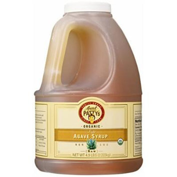 Aunt Patty's Raw Light Wild Salmiana Agave Syrup, 4.9 Pound