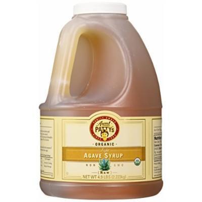 Aunt Patty's Raw Light Wild Salmiana Agave Syrup, 4.9 Pound