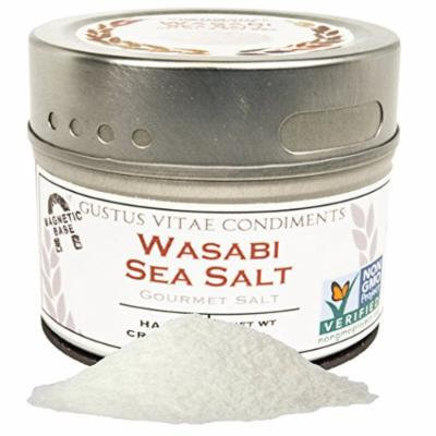 Wasabi Sea Salt, Non-GMO, 3.1 oz, Gourmet Salt