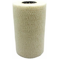 Andover Powerflex 3740 Cohesive Medicinal Tape, 4-Inch/6-Yard, White