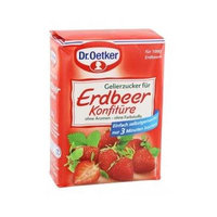 Dr. Oetker Gelierzucker Erdbeer ( Gelling Sugar for Strawberries ) 500g