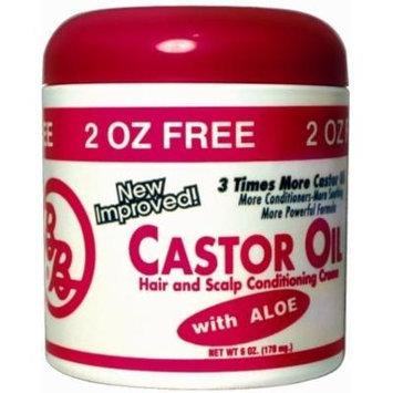 USA Wholesaler - 7470788 - Bronner Brothers Castor Oil Hair Strengthening Creme Case Pack 12