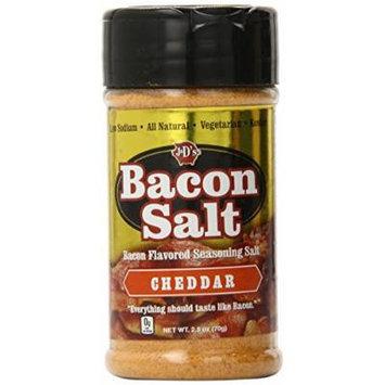 J&D's Bacon Salt, Cheddar, 1.5 Pound