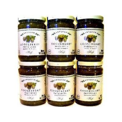 Hafi Gooseberry Preserves (Pack of 6)