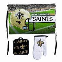 NFL New Orleans Saints Premium Barbeque Tailgate Set