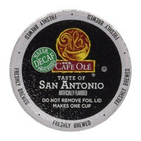 HEB Cafe Ole Coffee K-Cup 12ct Box (Pack of 4) (48 K-Cups) (Decaf - San Antonio - Medium Bodied (subtle undertones of cinnamon and chocolate))