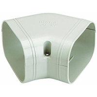 Rectorseal 84012 45-Degree Flat Vert, 3.5-Inch, White