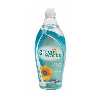 Green Works Dishwashing Liquid - 22 oz - Water Lily