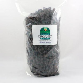 Braga Organic Farms Organic Raisins 5 lb bag