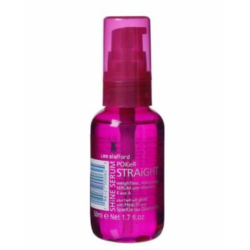 Lee Stafford Poker Straight Shine Serum 50ml (1.7 fl. Oz) ,For hair glowing with health and sparkling like diamonds